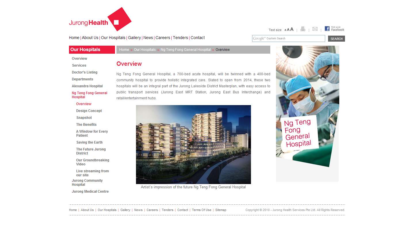 Jurong Health Services Intranet Portal Image 10