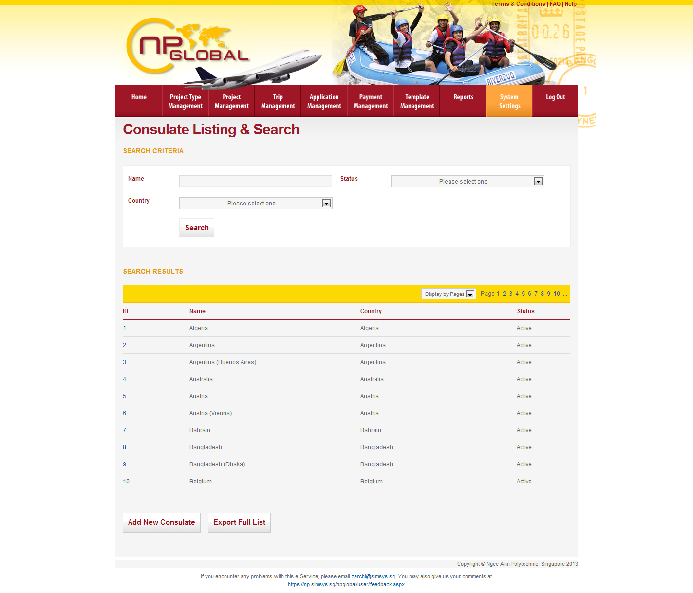 Ngee Ann Polytechnic - Overseas Student Project Portal Image 5