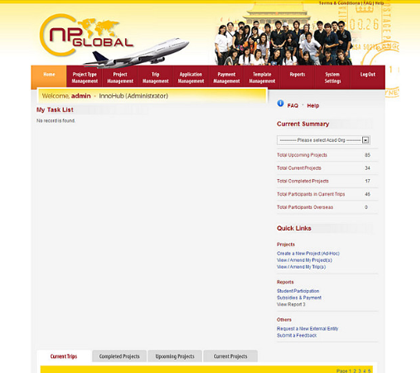 Ngee Ann Polytechnic - Overseas Student Project Portal
