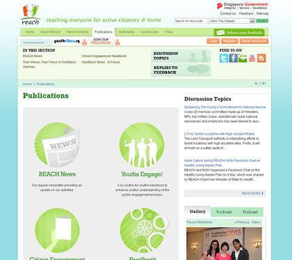 MCI - REACH Internet Outreach Portal